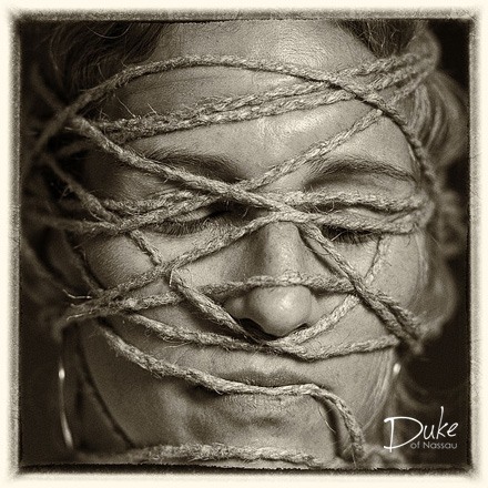 Entangled Face 8 by Duke Wells