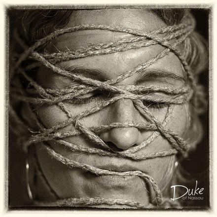 Entangled Face 8 by Duke Wells